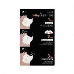 MISSHA Для мужчин 3-STEP Hedgehog Nose Pack 3g + 0.2g + 3g