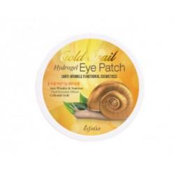 Гелевые патчи для кожи вокруг глаз ESFOLIO Gold Snail Hydrogel eye patch