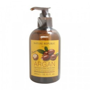 NATURE REPUBLIC Argan Essential Deep Care Shampoo 300ml.