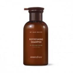 INNISFREE Мой рецепт для волос Освежающий шампунь 330 мл (для жирной кожи)