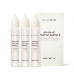 INNISFREE Рецепт для восстановления волос для наращивания волос Ampoule 25 мл * 3ea (для поврежденных волос)
